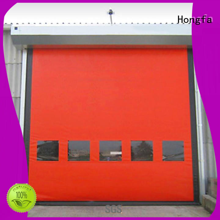 perfect after-sale high performance doors selfrepairing for warehousing