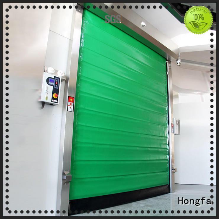 Hongfa storage cold storage doors effectively for warehousing
