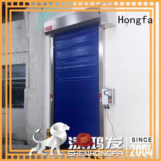 Hongfa insulated fast door experts for warehousing
