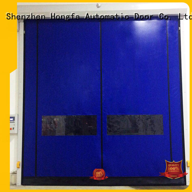 Hongfa speed Self-repairing Door popular for warehousing
