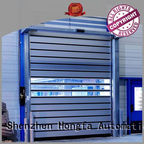 Security industrial high speed spiral door