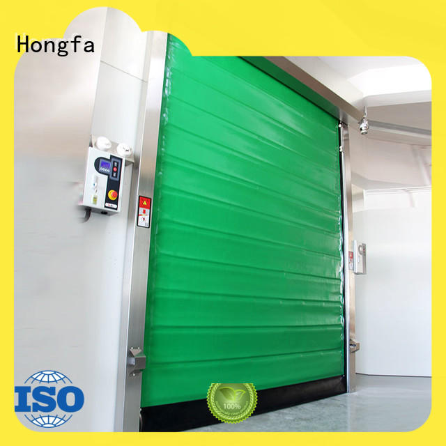 professional fast door application China for cold storage room