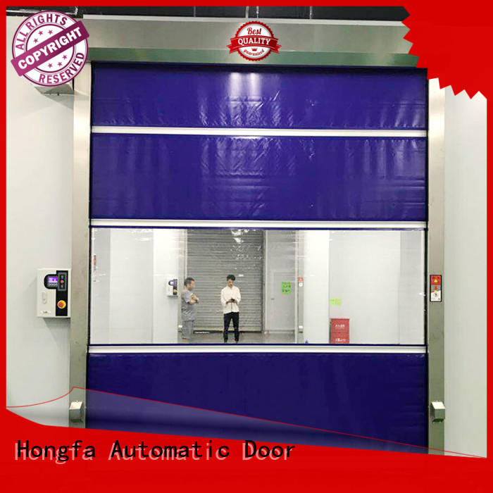Hongfa interior automatic roll up door widely-use for supermarket