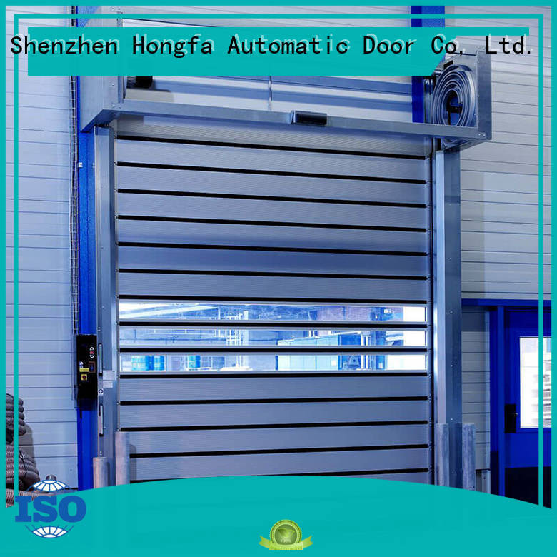 Hongfa fine-quality high speed spiral door automatic for cold room