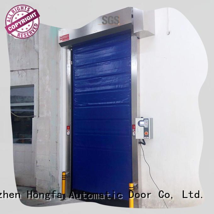 Hongfa cold storage door marketing for supermarket