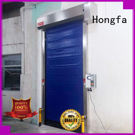Hongfa safe rapid door pu for warehousing