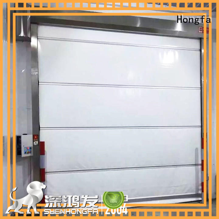 Hongfa automatic commercial door manufacturers supply for factory
