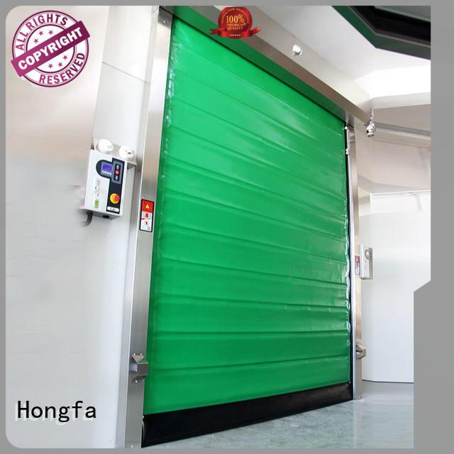 Hongfa rapid fast door marketing for food chemistry