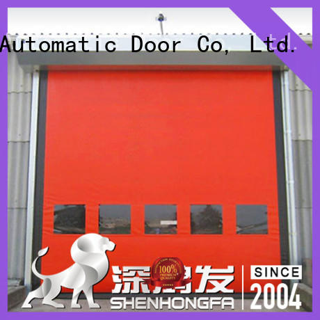 perfect after-sale auto-recovery door effectively for supermarket