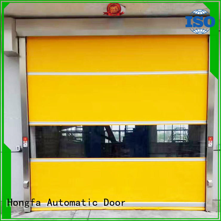 Hongfa rolling roll up door in different color for warehousing