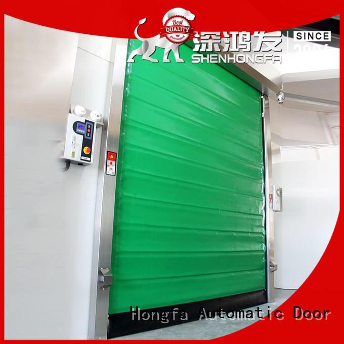 Hongfa fast cold storage door supplier for cold storage room