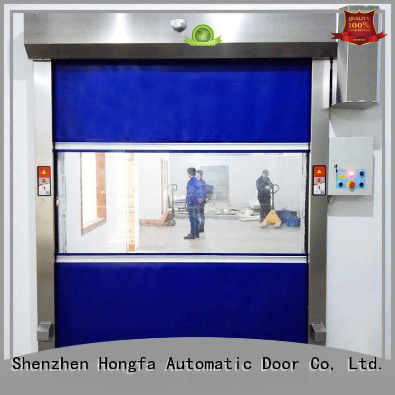 high-tech rapid roll up door plastic newly for food chemistry textile electronics supemarket refrigeration logistics