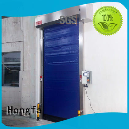 Cold storage application fast shutter door
