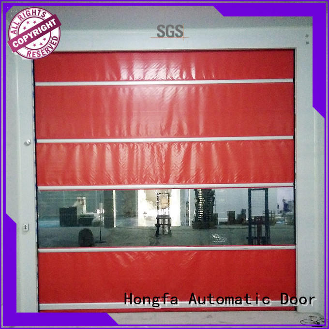 Hongfa high-speed automatic roll up door supplier for supermarket