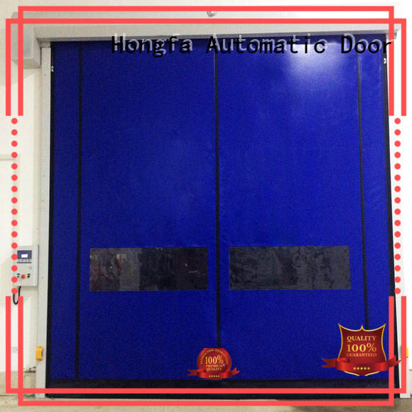 Hongfa door custom roll up doors for-sale for cold storage room