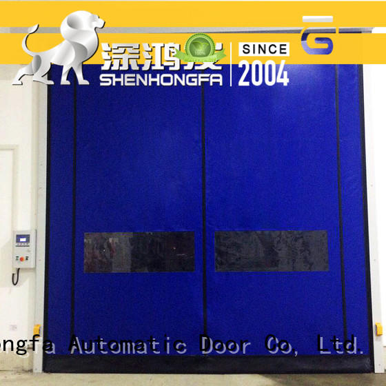 Hongfa high-tech auto-recovery door marketing for cold storage room