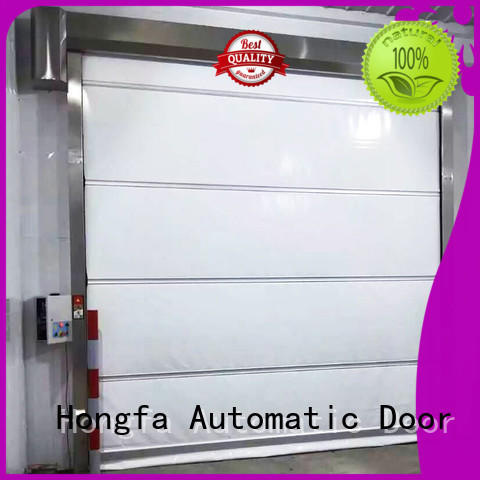 Hongfa high-tech roll up high speed door widely-use for warehousing