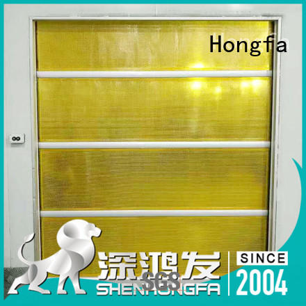high-speed roll up door quick in different color for supermarket