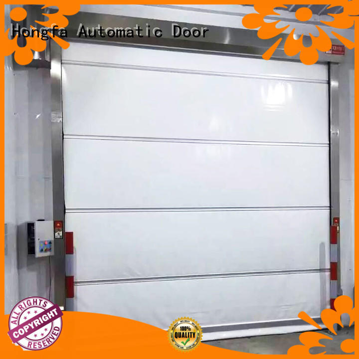 Hongfa rolling automatic roll up door in china for warehousing
