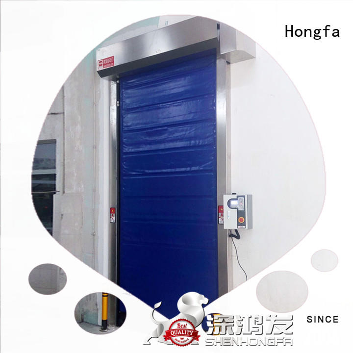 Hongfa high-speed cold storage door for warehousing