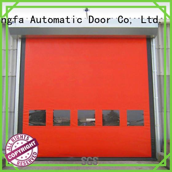 Hongfa perfect zipper door effectively for cold storage room