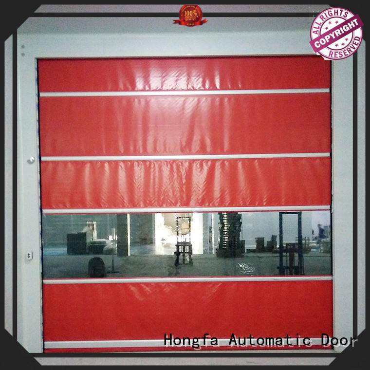 Hongfa high-tech high speed shutter door in china for factory