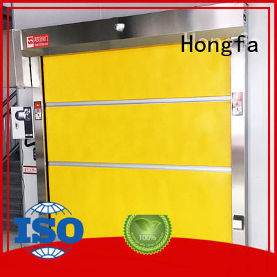 Hongfa automatic automatic roll up door overseas market for storage