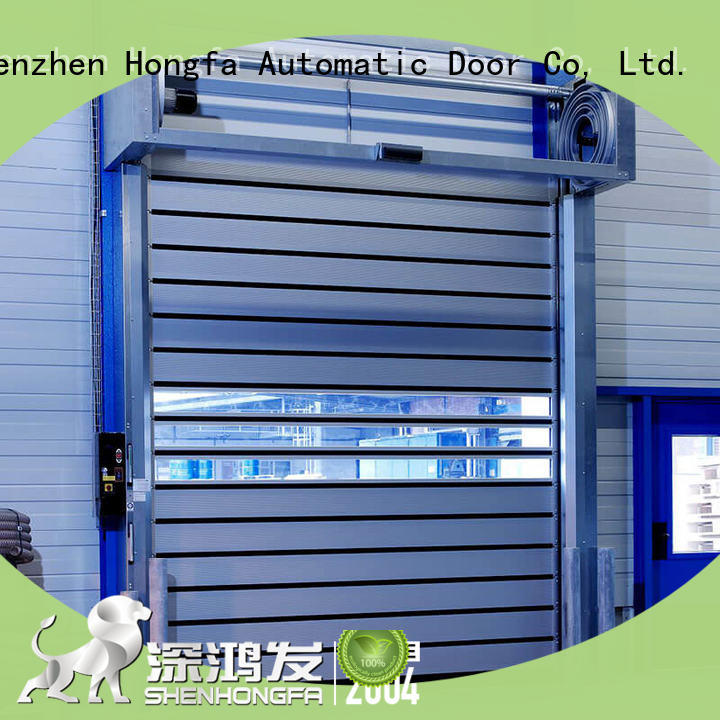 Hongfa security spiral door types for cold room