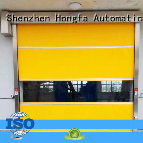 Hongfa oem fast acting doors industrial manufacturers for factory