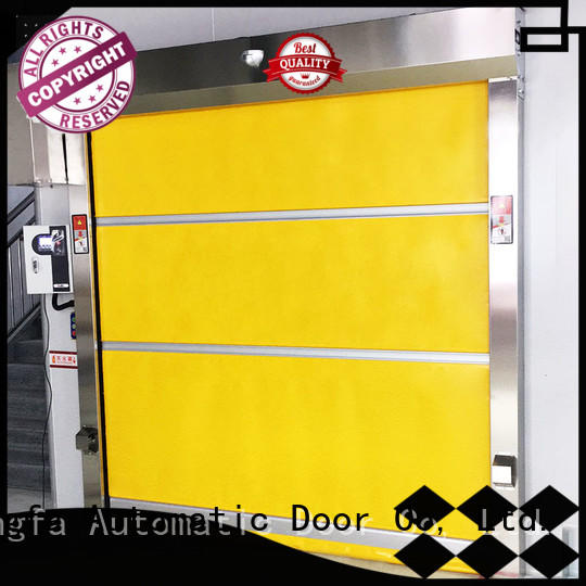 perfect roll up door control supplier for supermarket