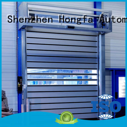 high-tech spiral fast door in different color for cold room
