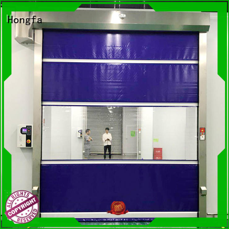high-tech rapid roll up door clear overseas market for food chemistry textile electronics supemarket refrigeration logistics