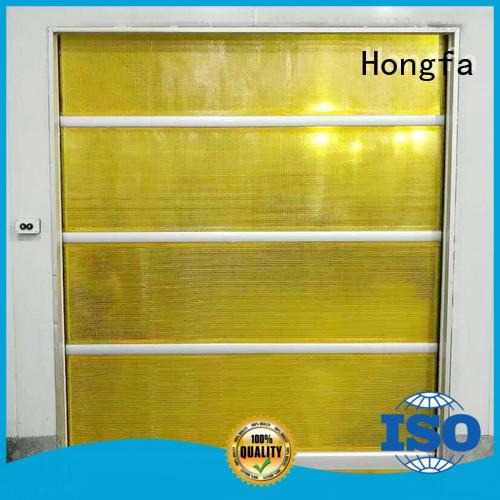 Hongfa roll PVC fast door marketing for storage