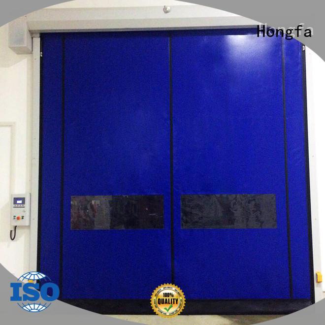 Hongfa zipper roll up door motor owner for food chemistry