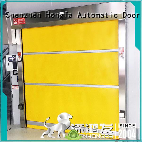 Hongfa PVC fast door overseas market for factory