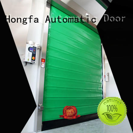 Hongfa rapid fast door for supermarket