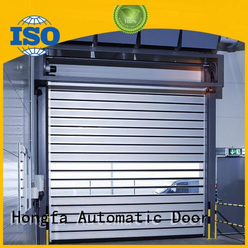 Hongfa industrial security industrial fast door supplier for parking lot
