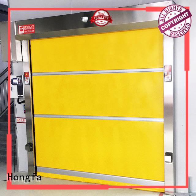 Hongfa high-tech rapid roll up door supplier for warehousing