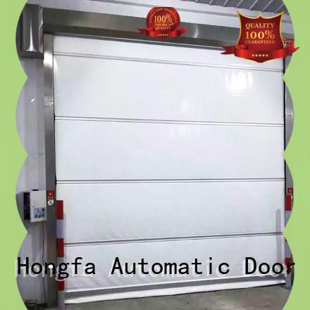 Hongfa safe high speed shutter door supplier for storage
