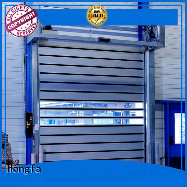 Hongfa industrial security door for wholesale for factory