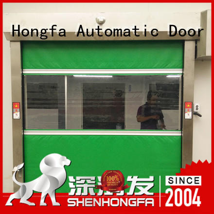 Hongfa new commercial door manufacturers manufacturers for food chemistry textile electronics supemarket refrigeration logistics