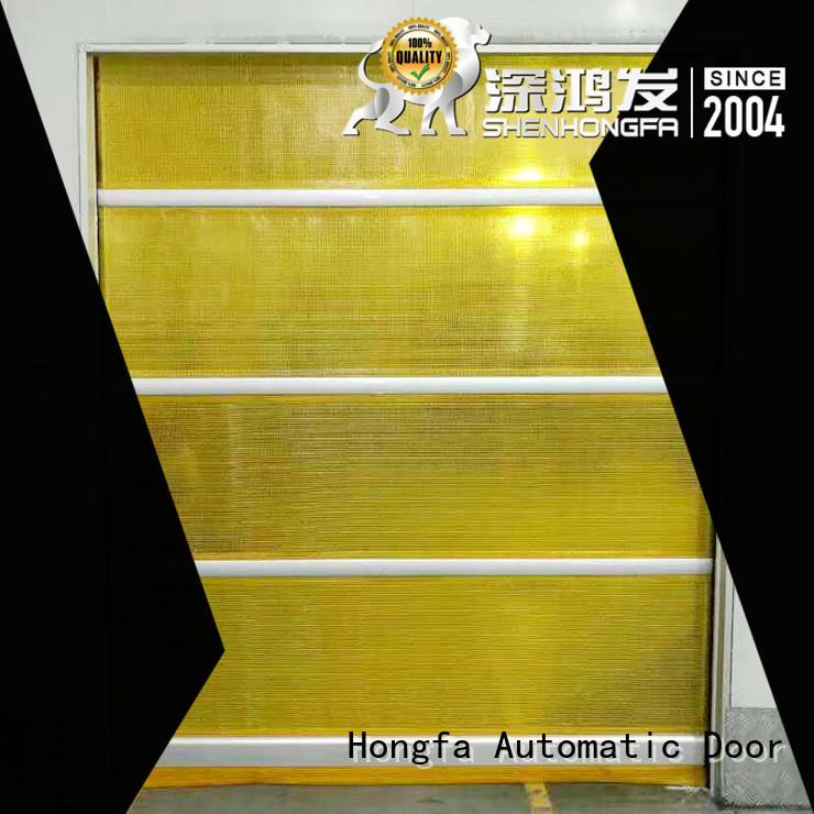 Hongfa safe roller steel doors manufacturers for warehousing