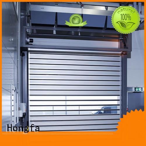Hongfa aluminum spiral door supplier for factory