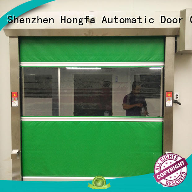 Hongfa speed high speed door widely-use for supermarket