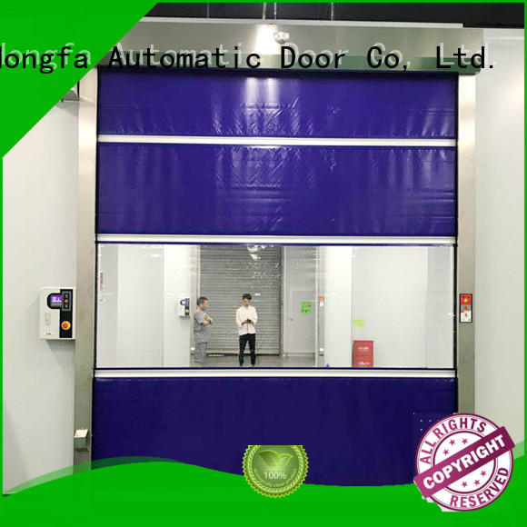 speed fabric roll up doors supplier for warehousing Hongfa