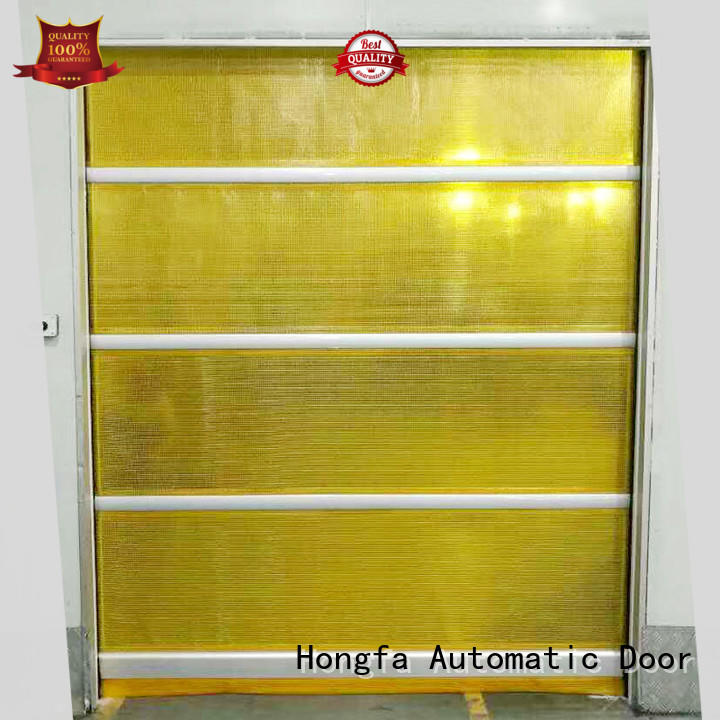 Hongfa pvc high speed shutter door widely-use for storage