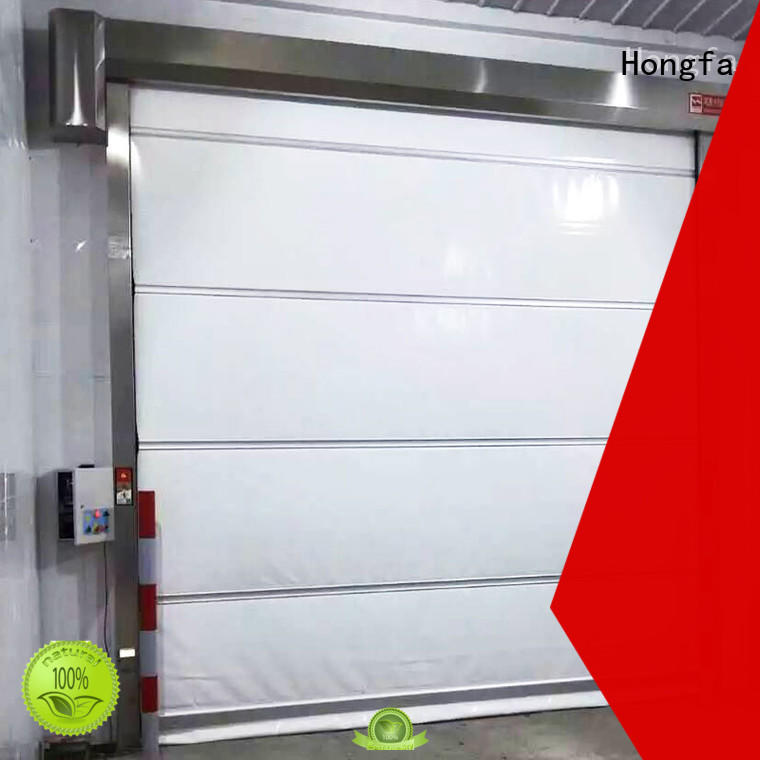 efficient rapid roll up door speed widely-use for factory