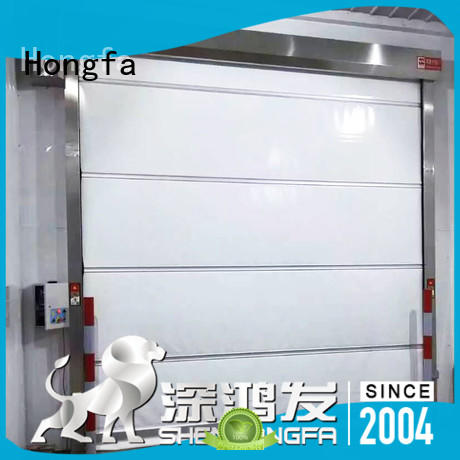 Hongfa rapid roll up door newly for supermarket