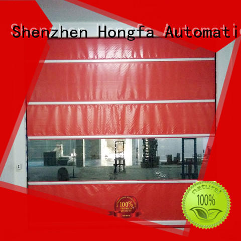 professional high speed fabric doors supplier for factory