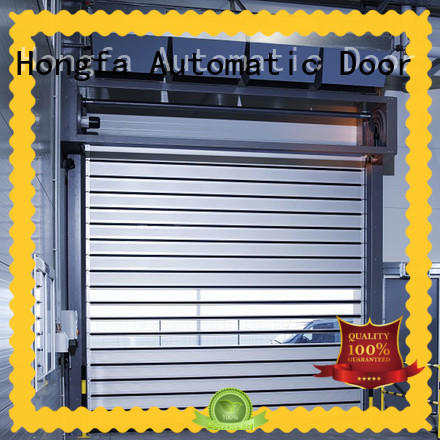 Hongfa automatic spiral fast door shop now for factory